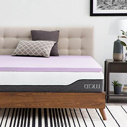 lavender infused memory foam mattress