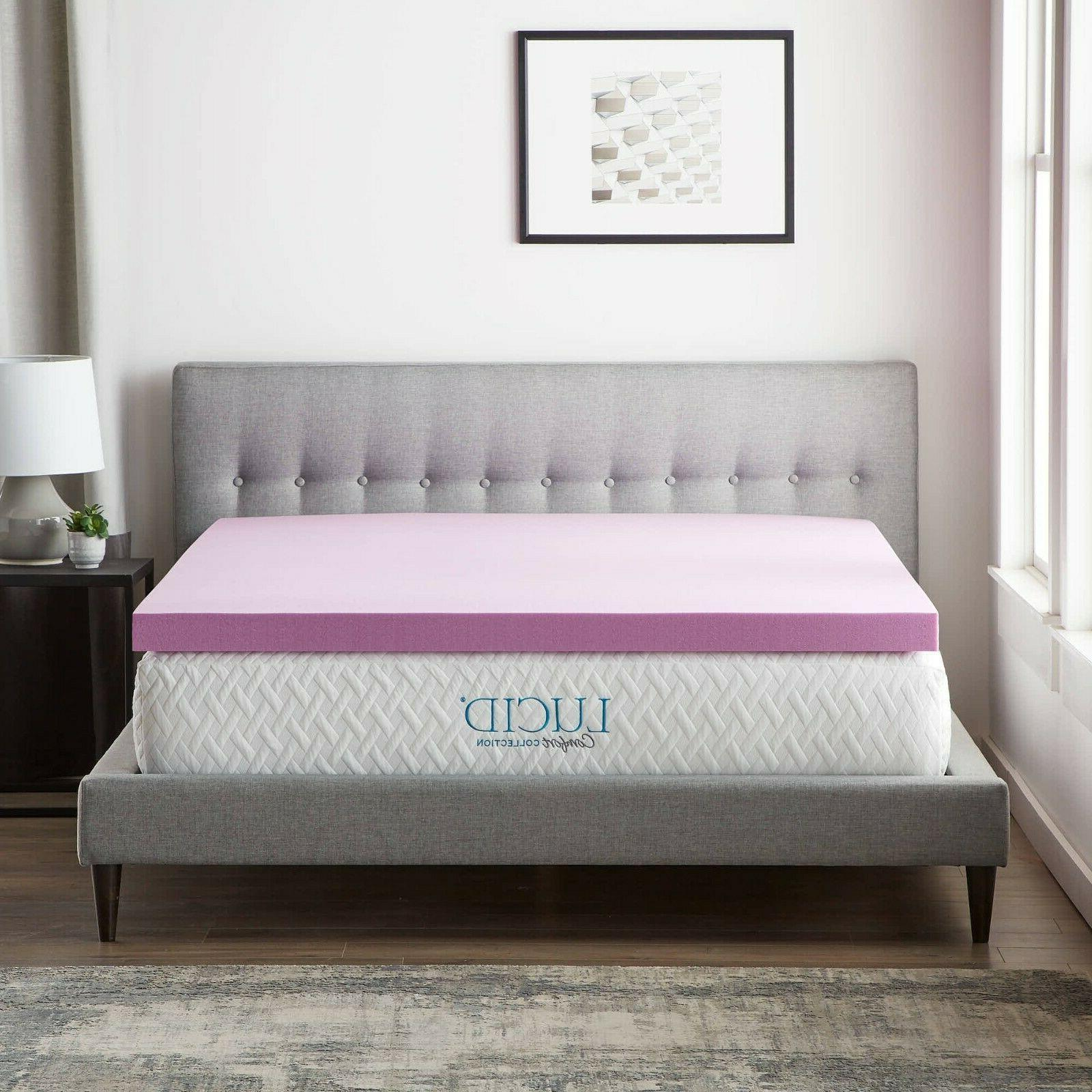 LUCID Comfort Collection Memory Foam
