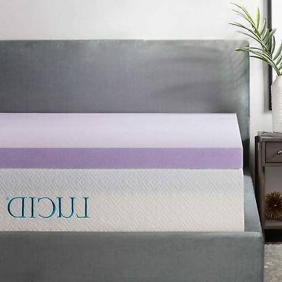 lavender infused memory foam mattress
