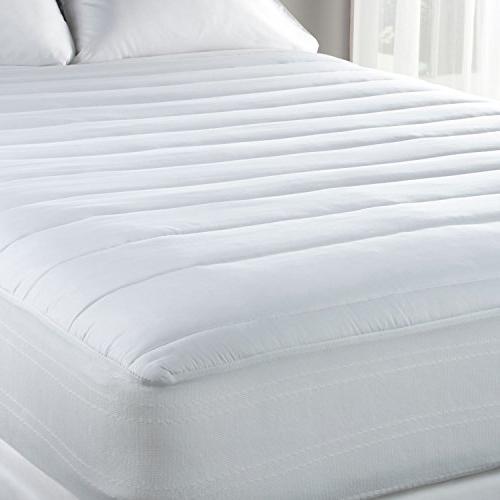 luxury temperature regulating mattress pad