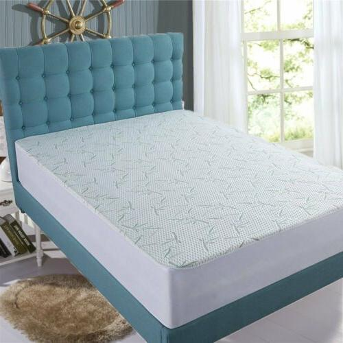 Bamboo Mattress Protector Bed Cover 3