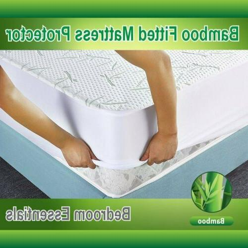 Bamboo Bed Cover Hypoallergenic 3 Sizes
