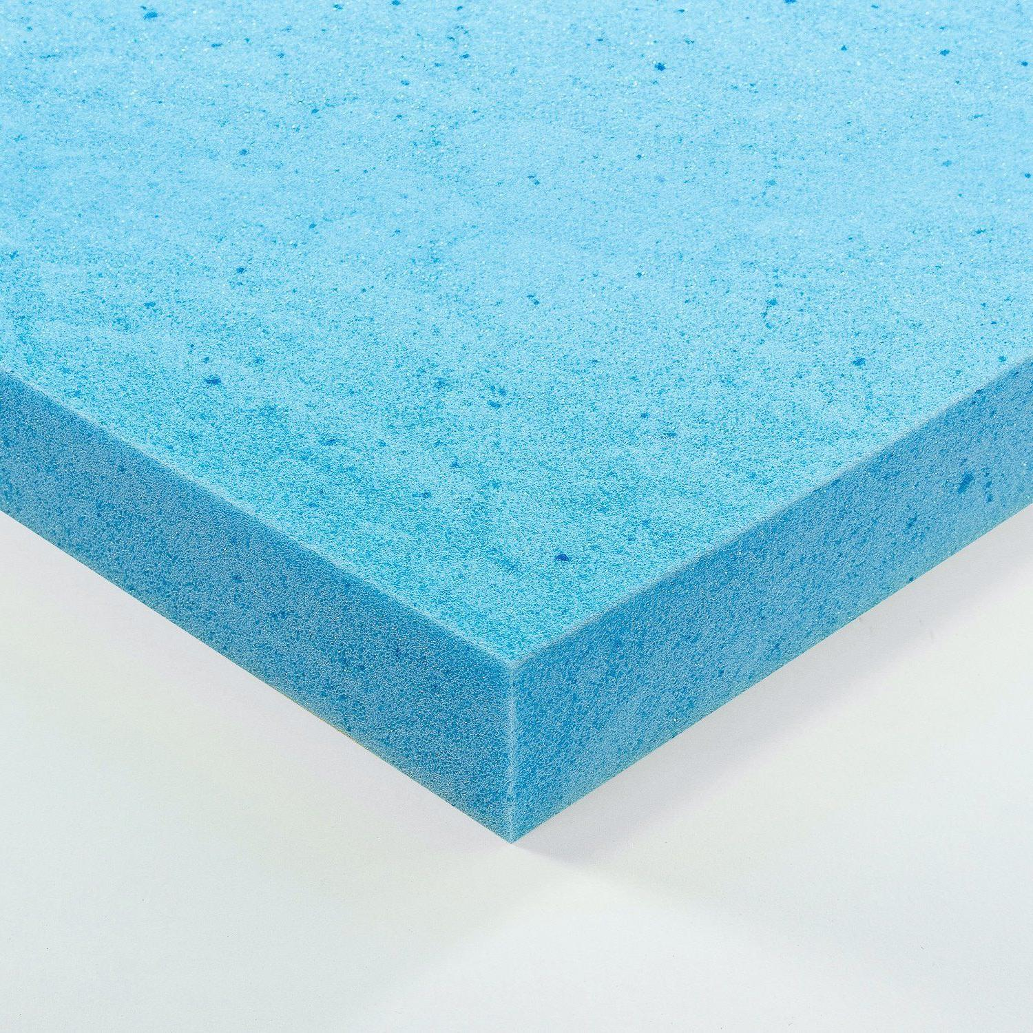 Mattress Gel Foam Topper Cooling Comfortable Airbed Pad