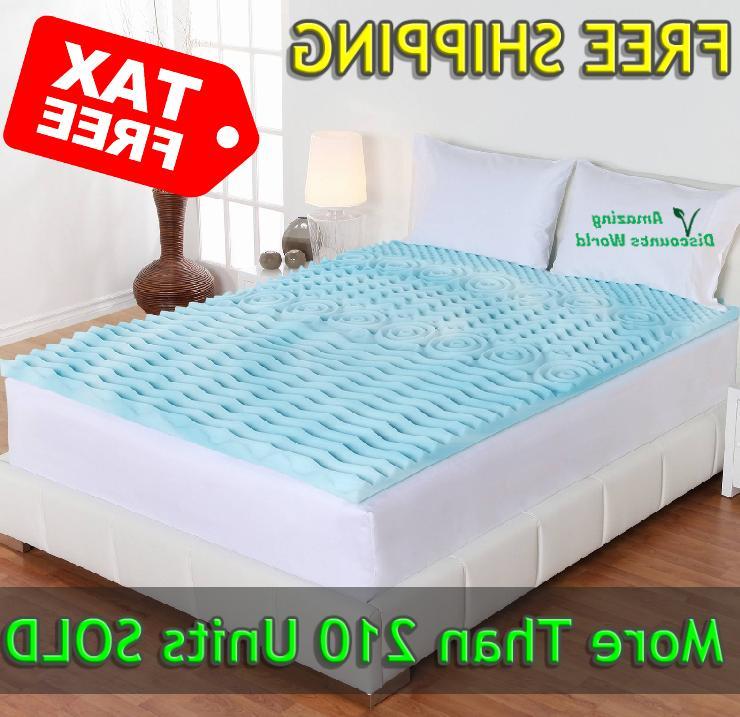 mattress orthopedic 2 pad cooling gel topper