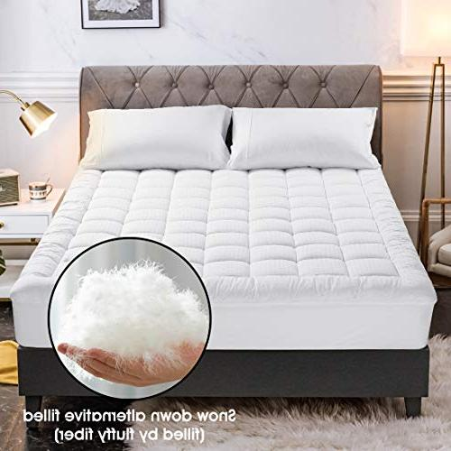 Freelife Full Cover Cooling Mattress Cotton Top Ultra Soft Overfilled Deep Pocket Luxury