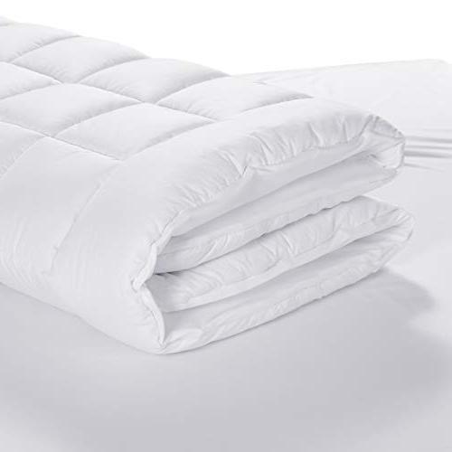Freelife Full Mattress Pad Cover Mattress Cotton Ultra Overfilled Deep Pocket Luxury