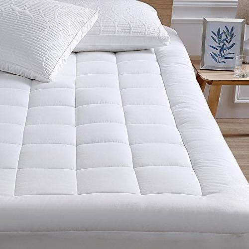 mattress pad cover cotton