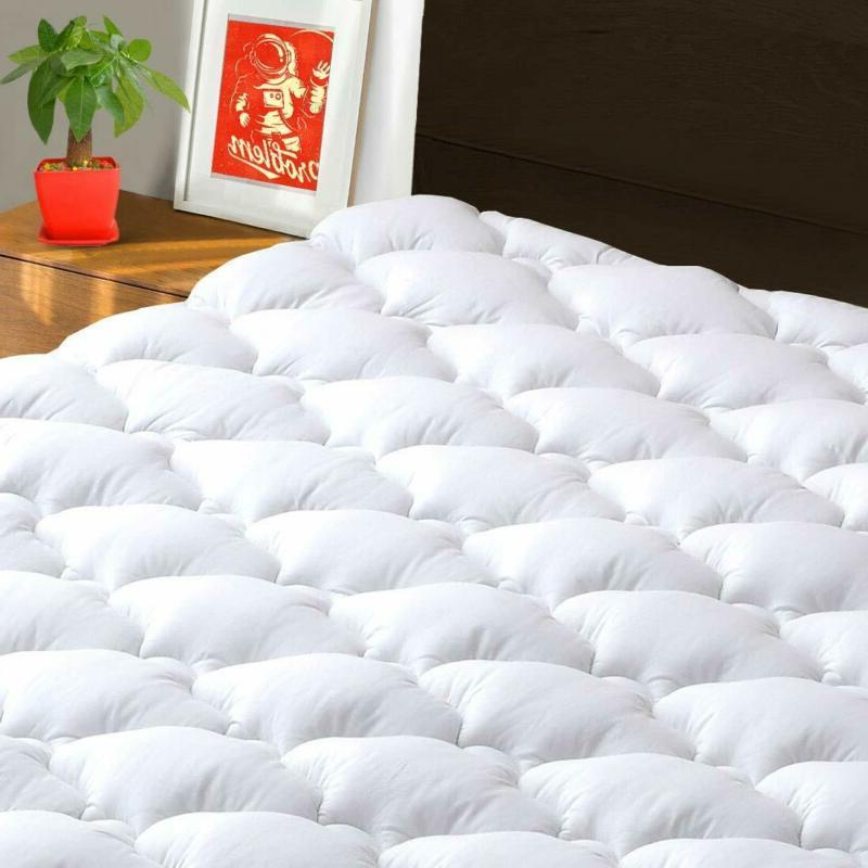 mattress pad cover queen cooling mattress topper