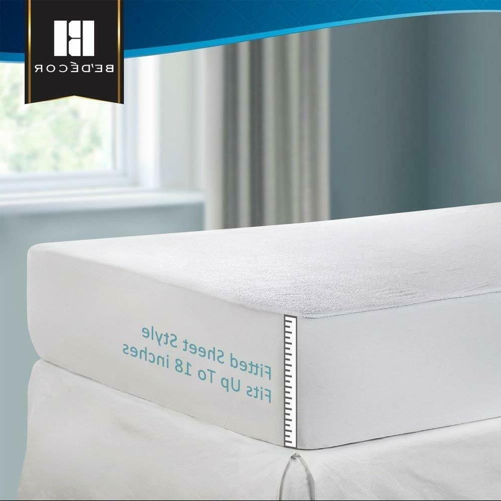 mattress pad cover queen size pillow top
