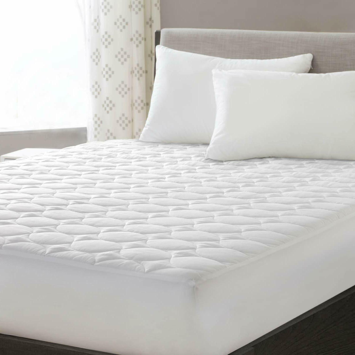 Mattress Pad Cover Quilted Fitted 18 Quot Deep Pocket