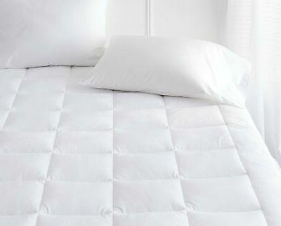 FULL SIZE MATTRESS PAD SOFT PLUSH FITTED PILLOW TOP BED TOPP