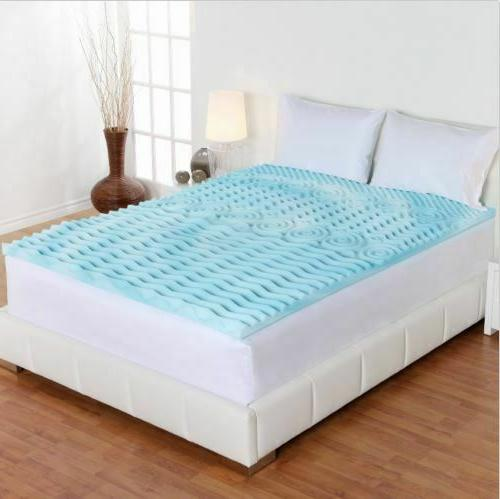 Cool Gel Mattress Topper Orthopedic Pad Queen