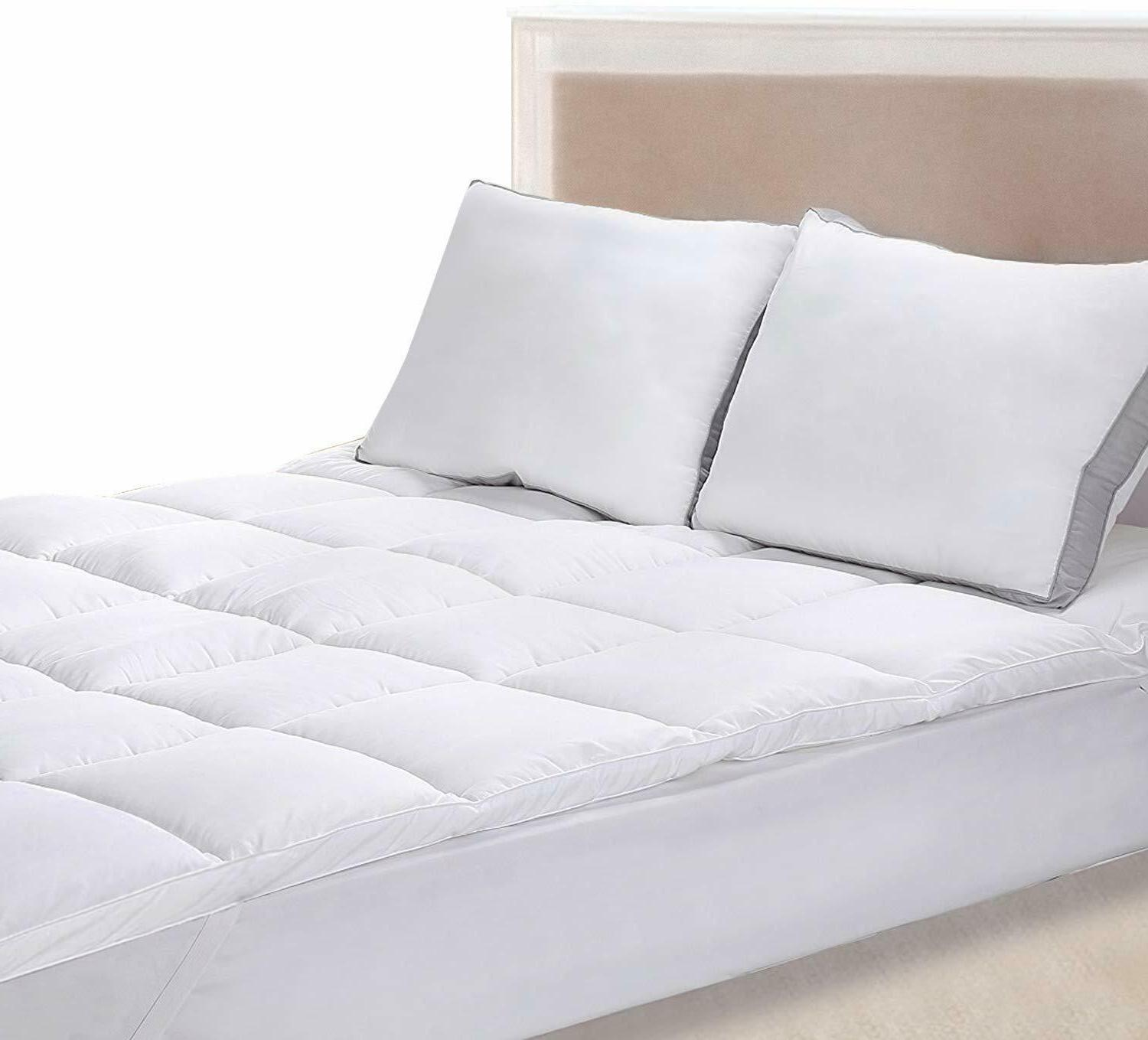 mattress topper 3d hollow siliconized fiber by