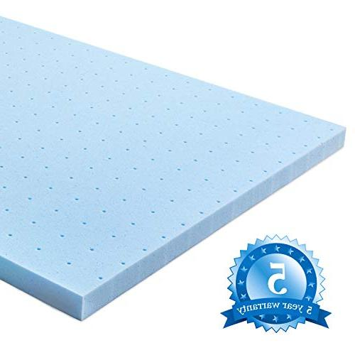 RUUF Mattress Topper, Memory Foam with Technology, 2 inch,