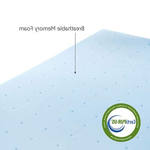 RUUF Mattress Topper, Memory with inch, Twin