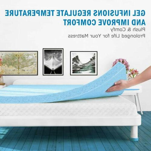 Mattress For Gel-Infused Ventilated Design Inch