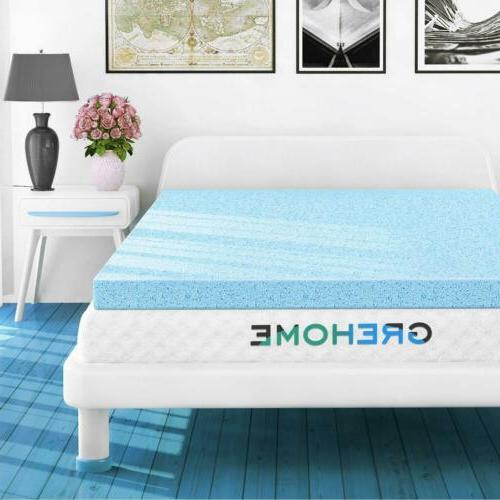 mattress topper for twin gel infused memory