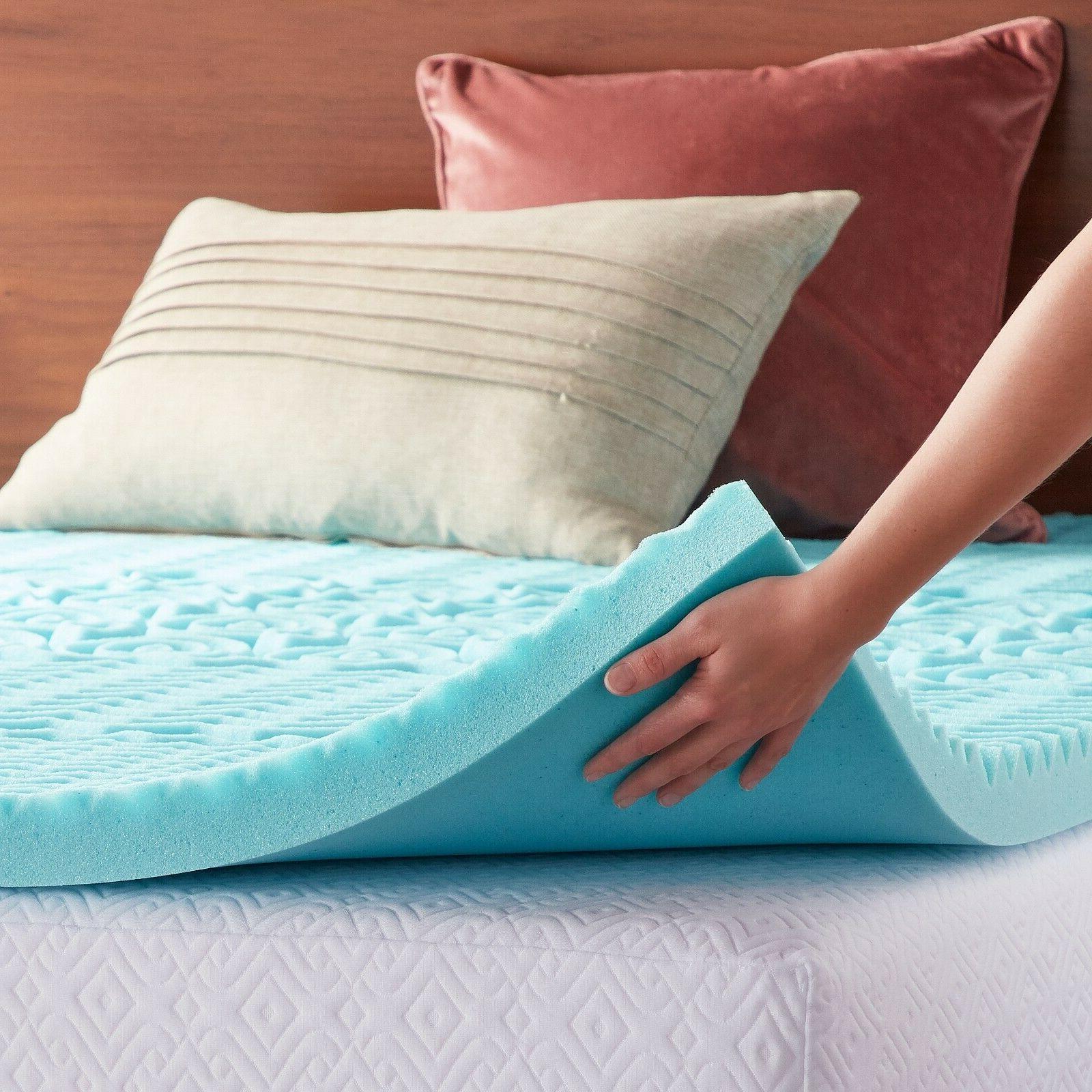 3 Inch Foam Topper Pad Bed Cushion 5