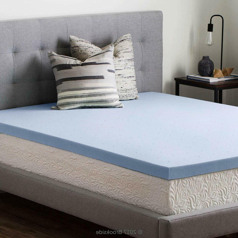 Mattress Topper Memory Foam Gel Infused Bed Pad Ventilated B