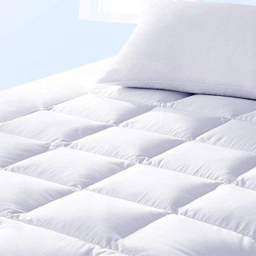 """Pure & Mattress Pad in - Pillow Top Make Your - 18"""" Deep - Queen Size"""