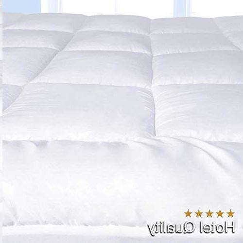 """Pure Brands Mattress Topper & Mattress Plush Pillow - Make Your 18"""" Pocket Queen Size"""