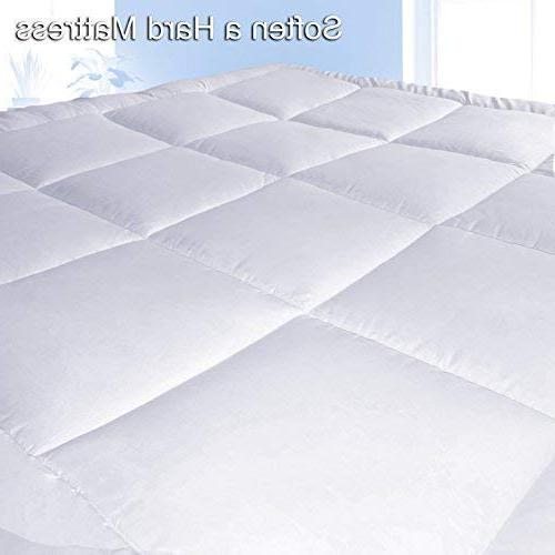 """Pure Brands Mattress & in - Quality Plush Luxury Down Pillow - Your 18"""" Deep Queen Size"""
