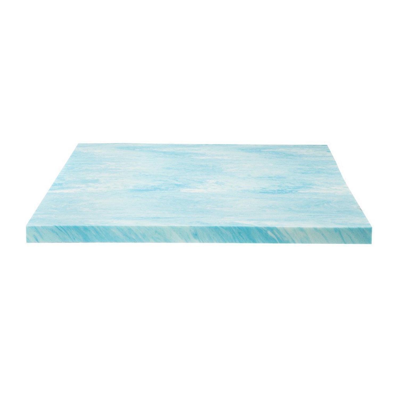 Memory Foam Gel Topper Mattress Bed Soft Comfort Pad Breatha