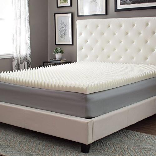 memory foam mattress topper highloft