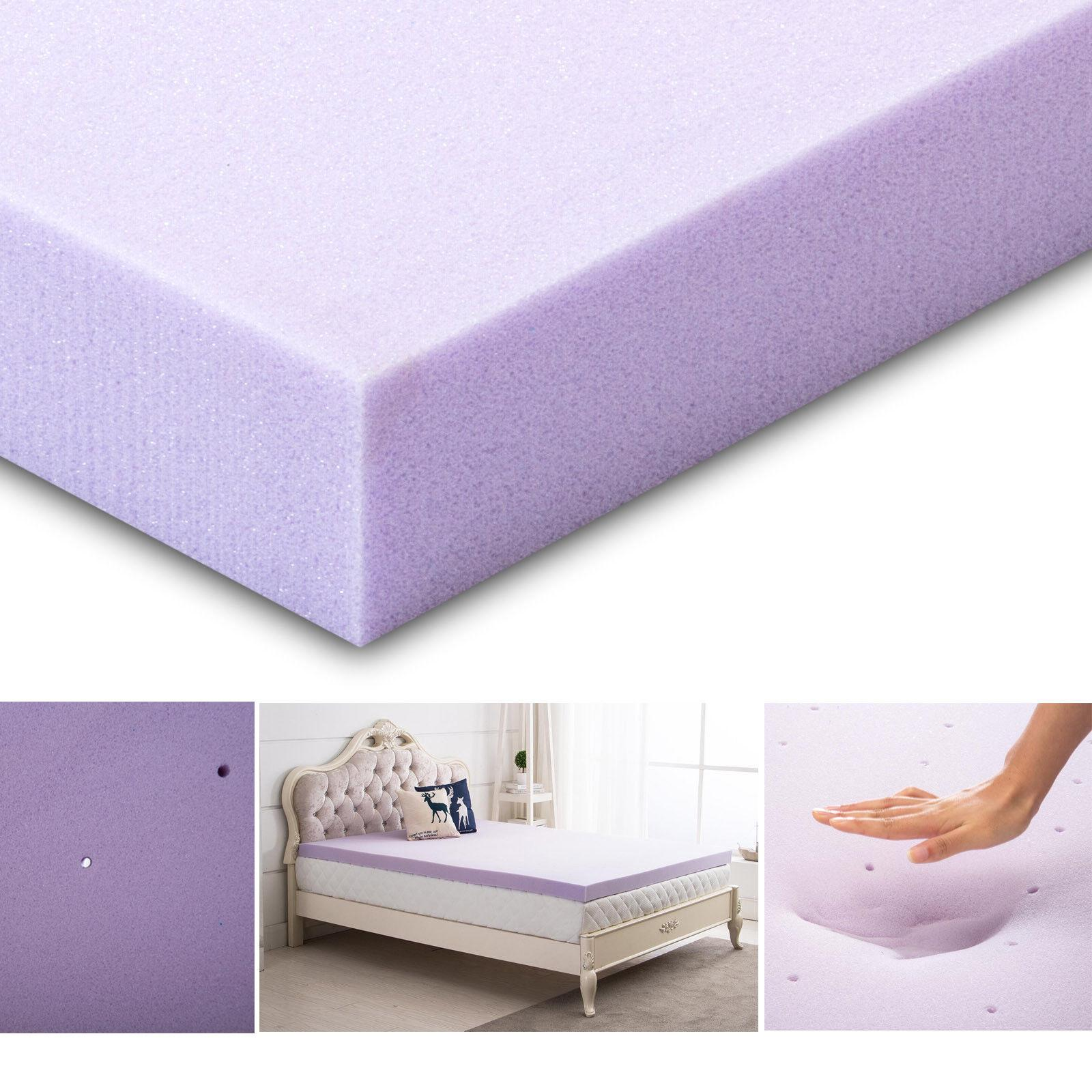 Memory Foam Topper Lavender Full Topper Twin Topper