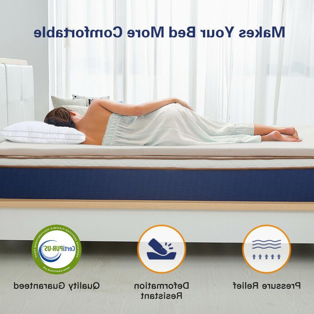 BedStory memory-foam topper 2inch Cloth