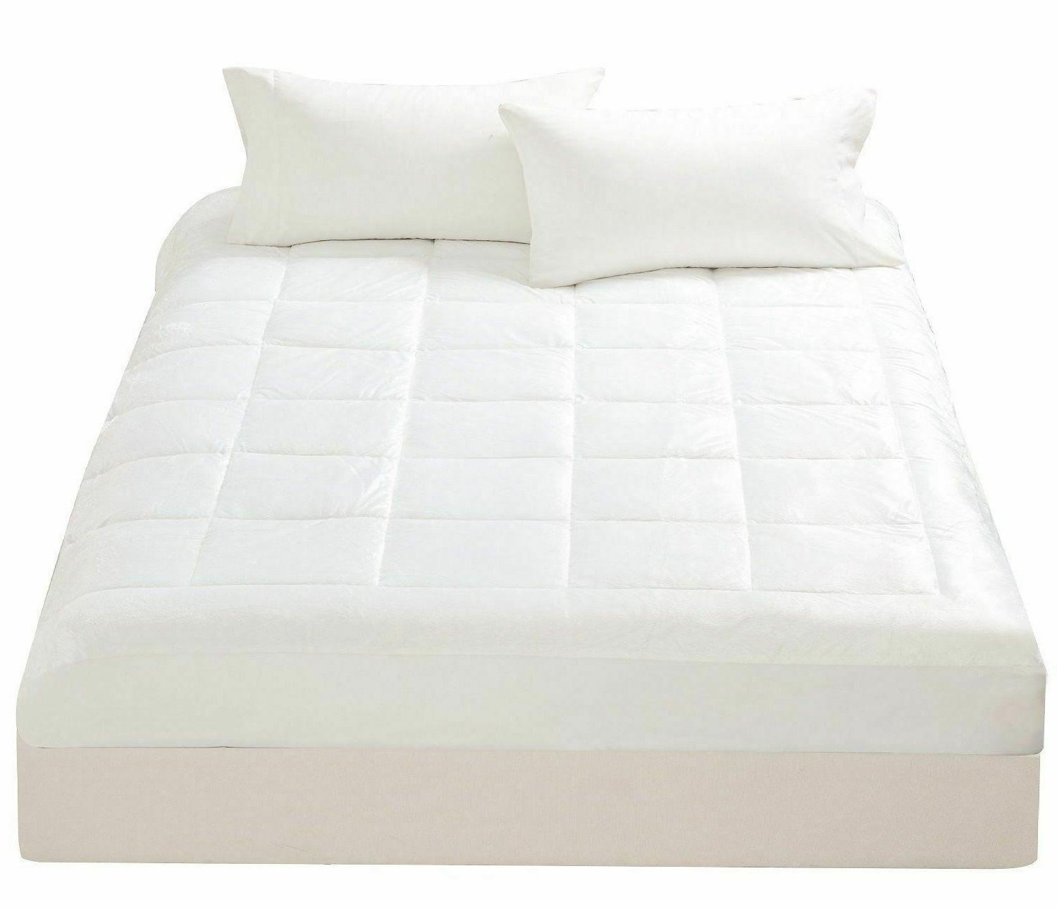 microplush mattress pad super soft cover overfilled