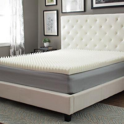"""NEW! 4"""" REVERSIBLE ULTIMATE COMFORT BED MATTRESS TOPPER"""