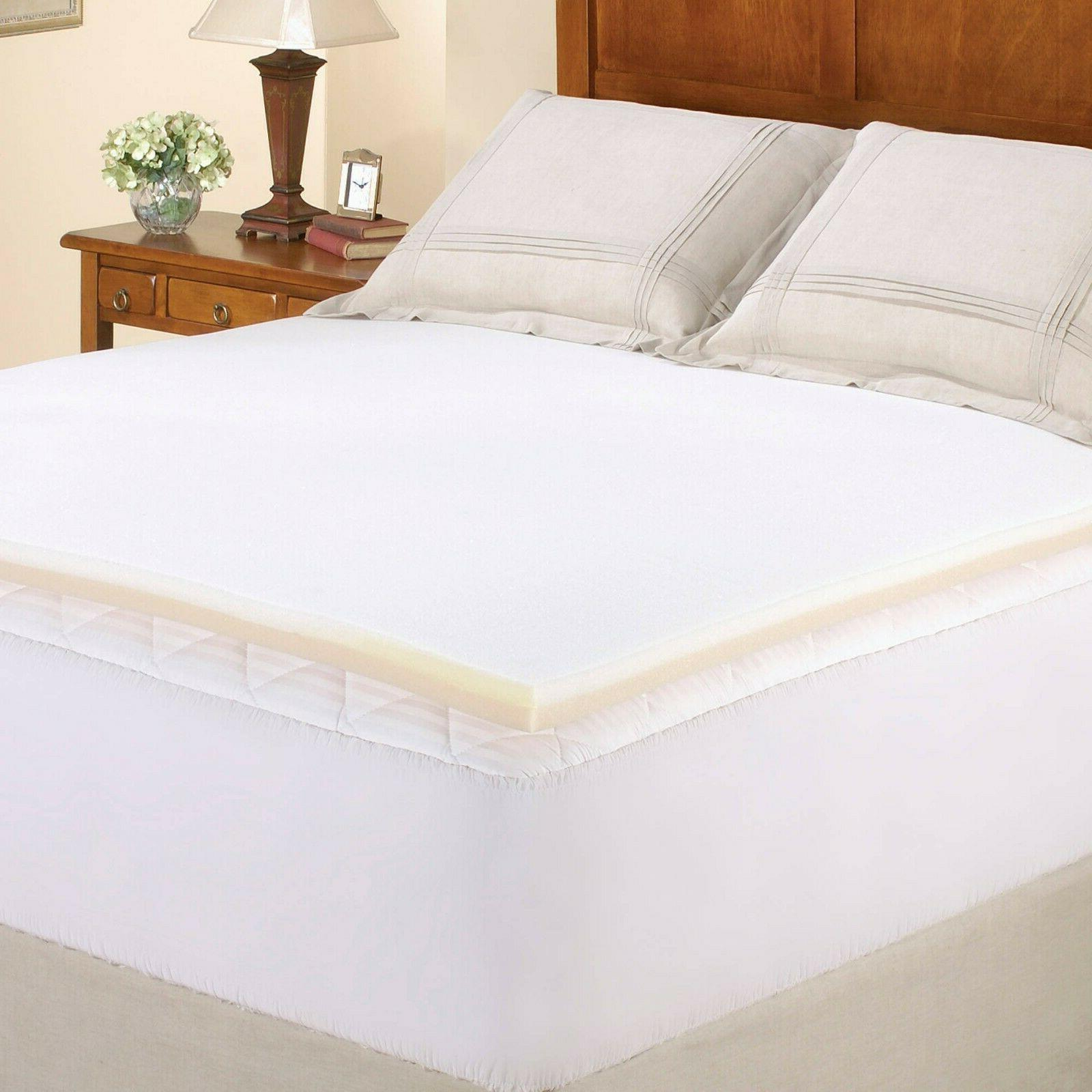 NEW Mattress Topper 1 Inch Pad  FOR Memory Foam Twin size