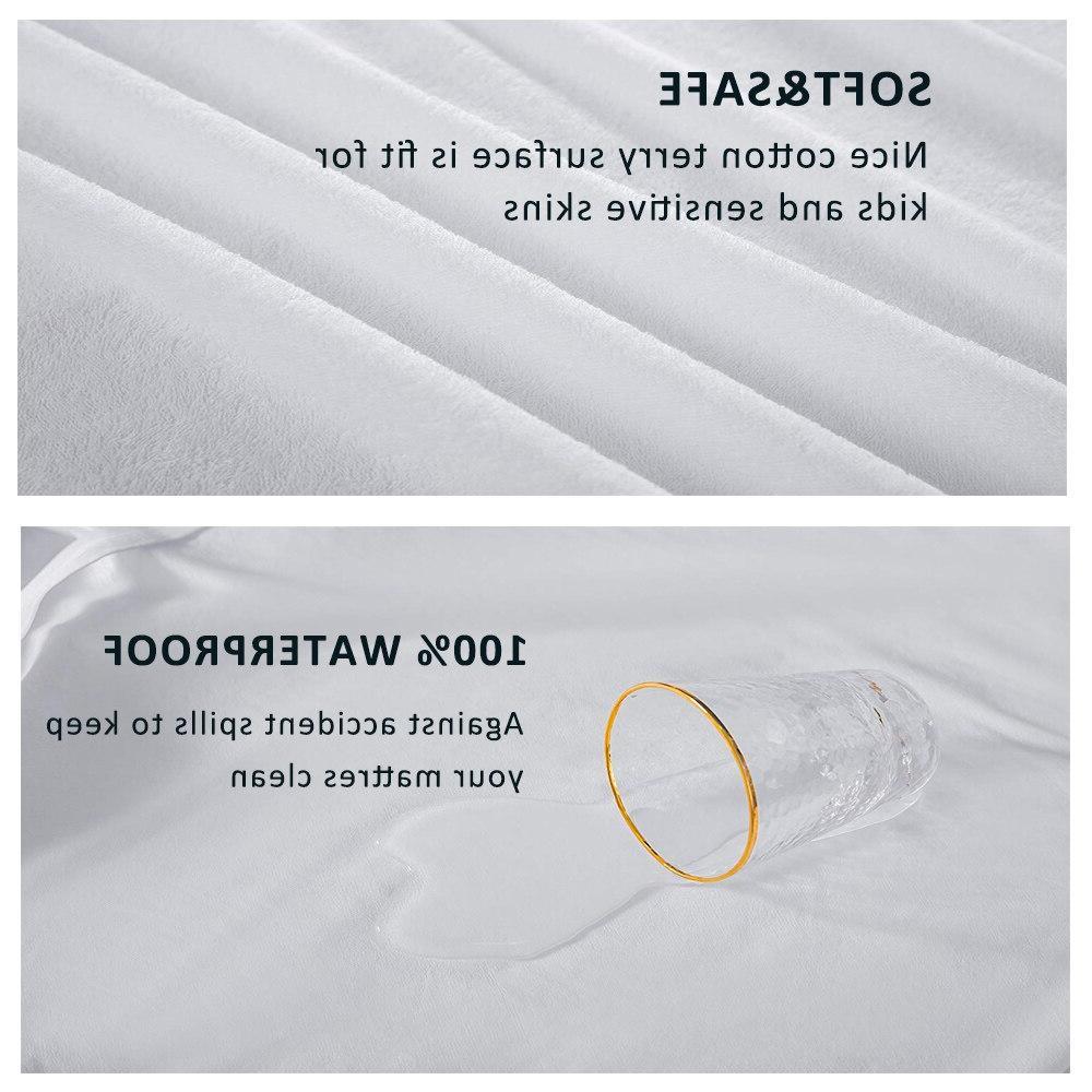 LFH New Waterproof Sheet <font><b>Mattress</b></font> With Band Bed Protector Waterproof Protector