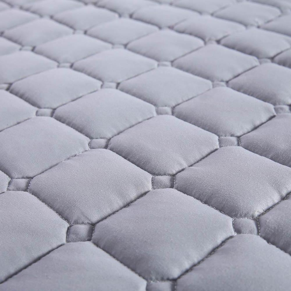 Nordic quilting <font><b>cover</b></font> Polyester filler twin king protection pad