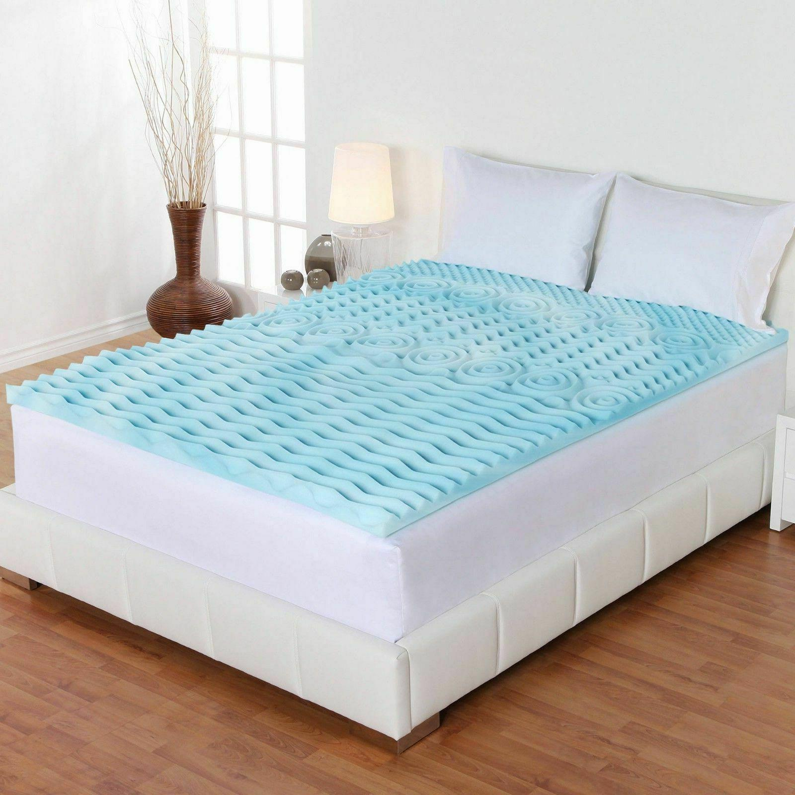Orthopedic Bed Pad 5-Zone Authentic Comfort 3-Inch Foam Matt