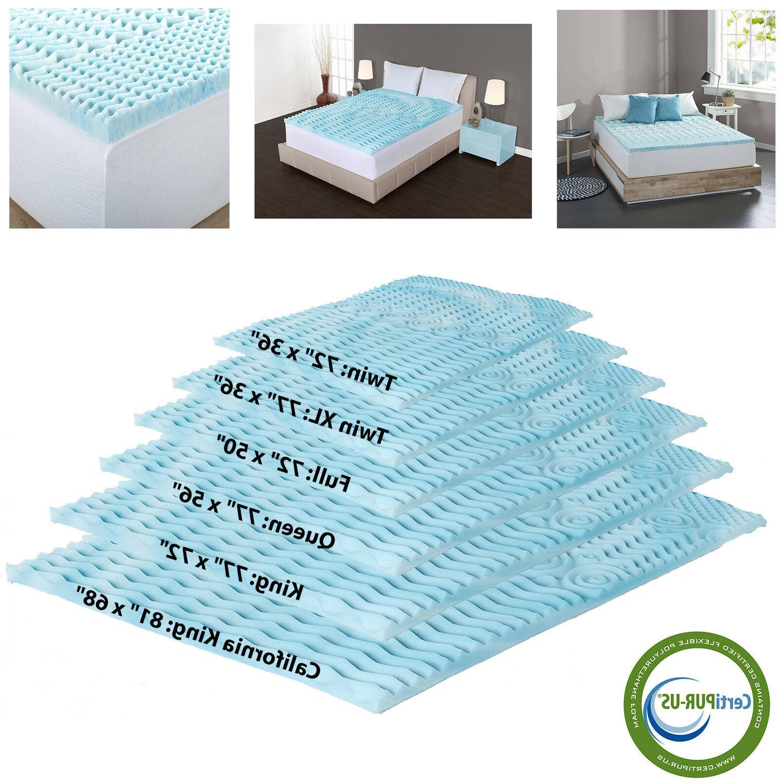 orthopedic bed pad 5 zone 2 inch