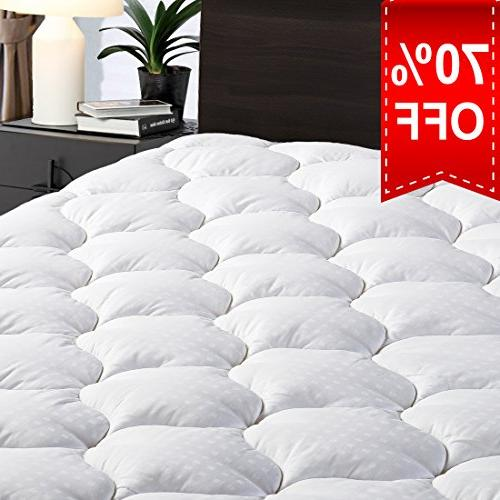 overfilled fitted mattress pad cover