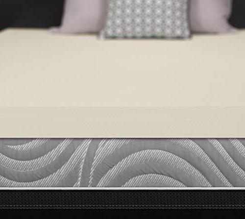 Sealy Memory Cooling Mattress Topper Washable Cover, YR Warranty,