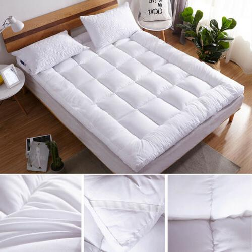 Pillow Top Mattress Cover Bed Protector Soft Hypoallergenic