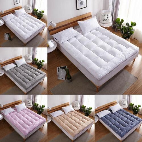 pillow top mattress pad cover bed topper