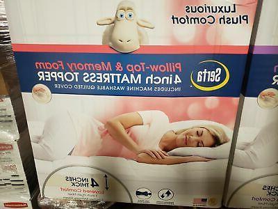 Serta Pillow Top Foam