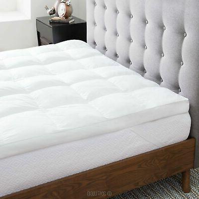 plush down alternative fiber bed
