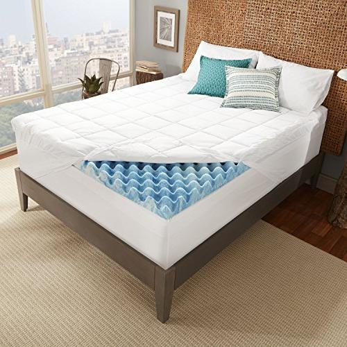 Sleep 4-inch Support Memory Mattress with Channels Fiberfill, in The a 10-Year - Queen Size