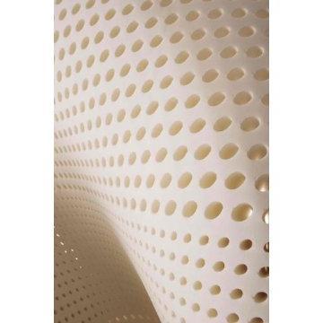 plush talalay topper mattress pad