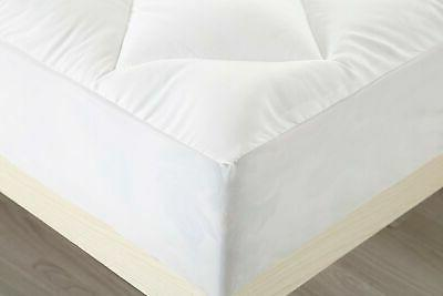 Utopia Bedding Pad Twin Quilted Fitted ...