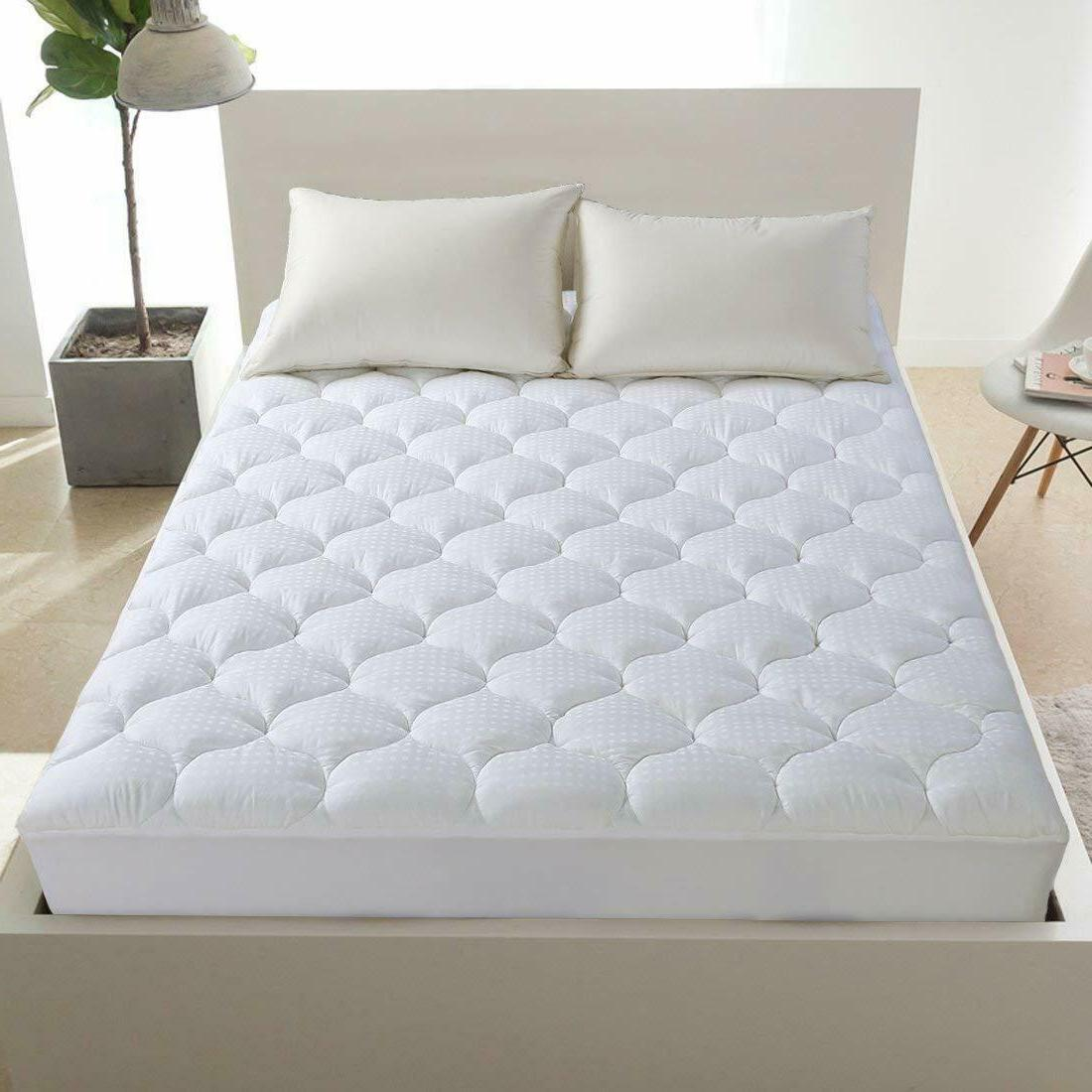 Leisure Town Queen Mattress Pad Cover Cooling Mattress Toppe