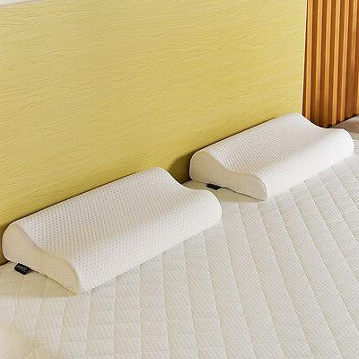 Queen Inch Memory Mattress Bed Pillows