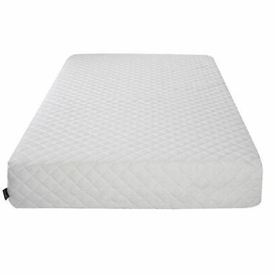 Queen Size 10 Memory Foam Mattress Bed W/2
