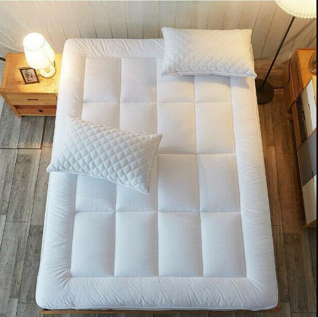 Queen Mattress Cover Top Topper Bed